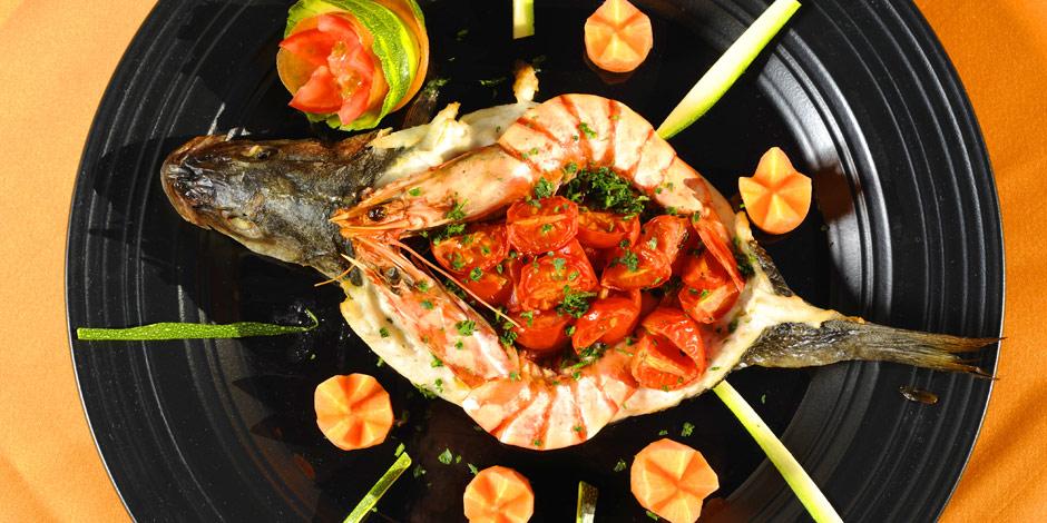 Ristorante di carne e pesce nan location ideale per for Primi piatti particolari